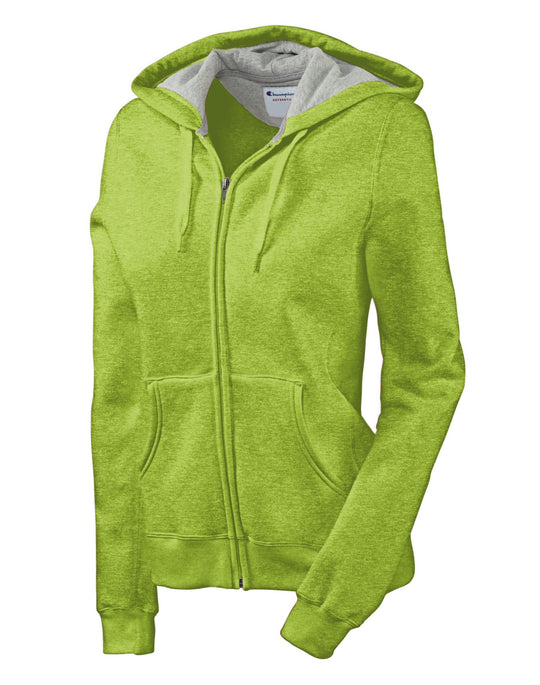 Champion Eco Fleece Full-Zip Women's Hoodie Jacket