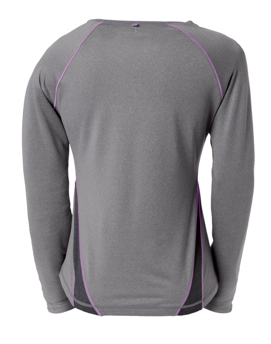 Champion Double Dry Fitness Long-Sleeve Women's T Shirt