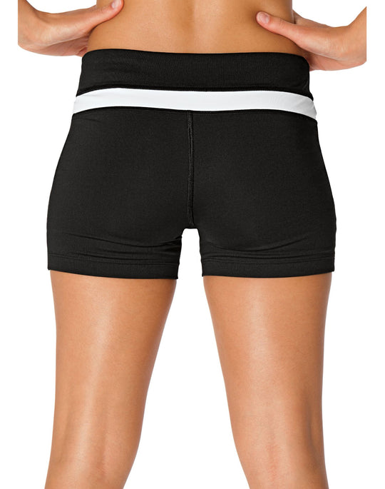 "Champion Double Dry FITTED 4"" Women's Absolute Workout Shorts"