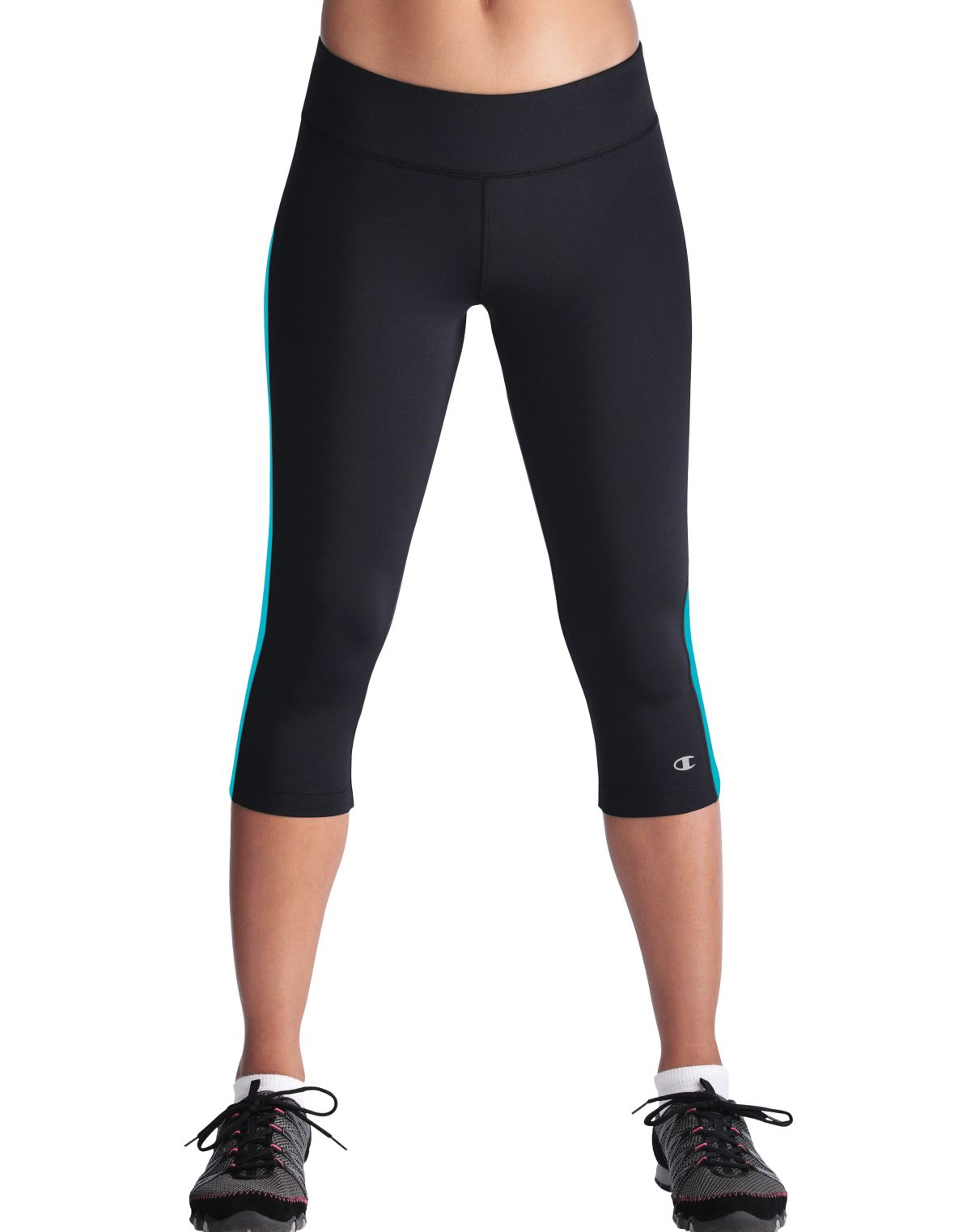 ea157f740ce1 Champion Double Dry Absolute Workout FITTED 17-Inch Women s Knee Tights