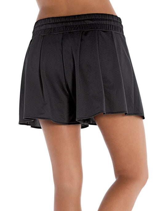 Champion Double Dry® Fem Pleated Women's Athletic Shorts