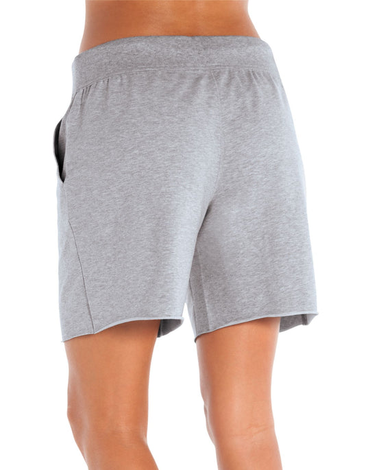 Champion Double Dry Cotton Women's Knee Shorts