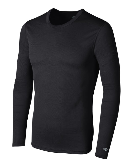 Duofold by Champion Men's Base Weight First Layer Long Sleeve Crew with Champion Vapor Technology