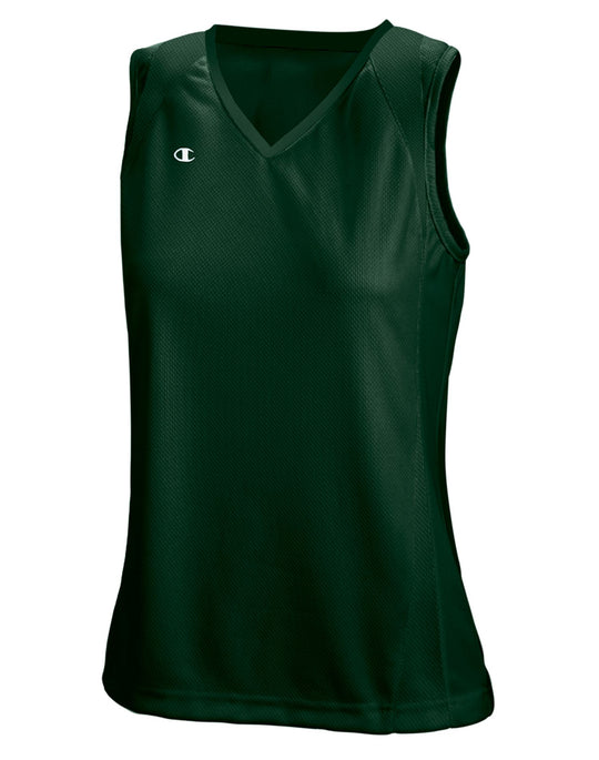 Champion Double Dry Solid-Color Mesh Sleeveless Lacrosse/Field Hockey Jersey