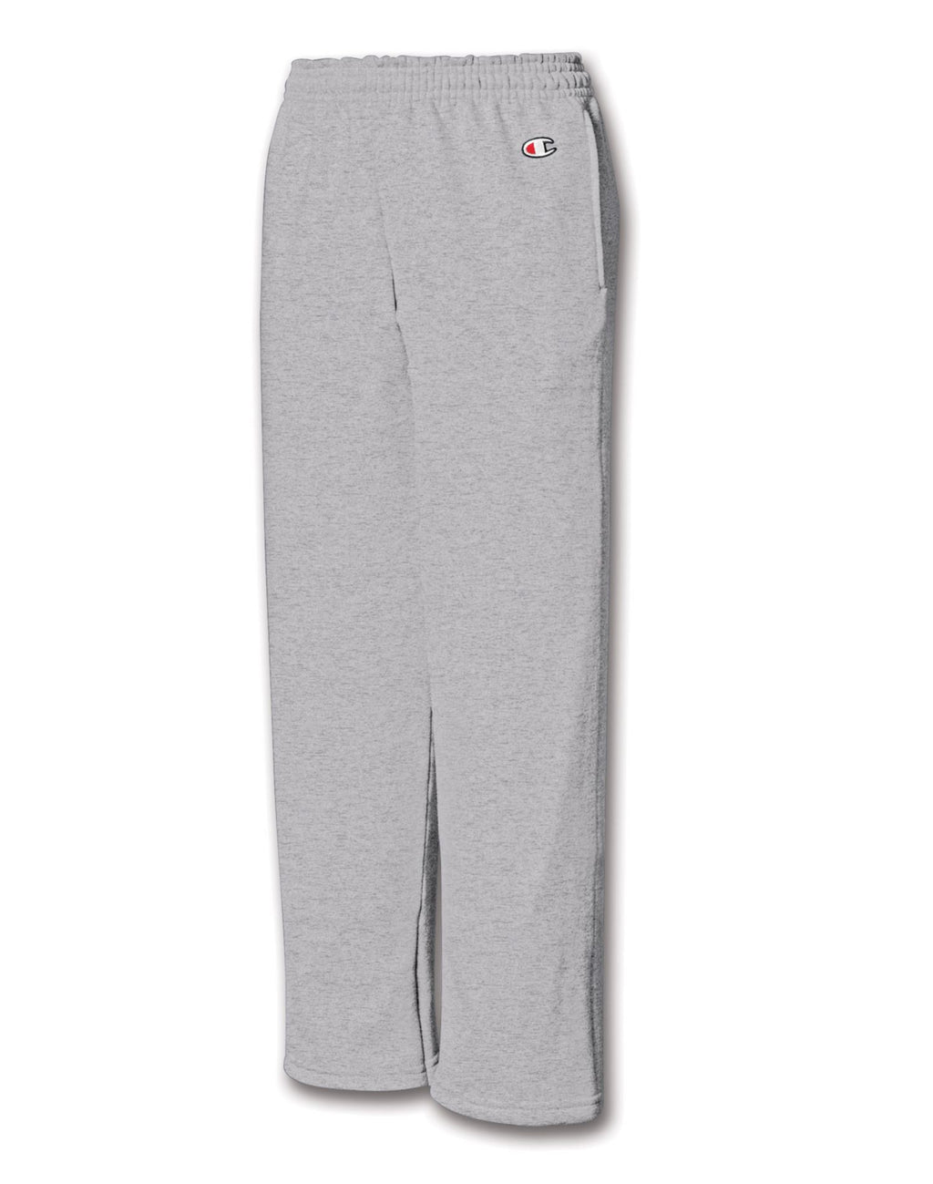 Champion Double Dry Action Fleece Kids' Sweatpants with Open Hems & Side Pockets