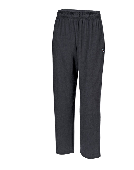 Champion Men`s Authentic Open Bottom Jersey Pants