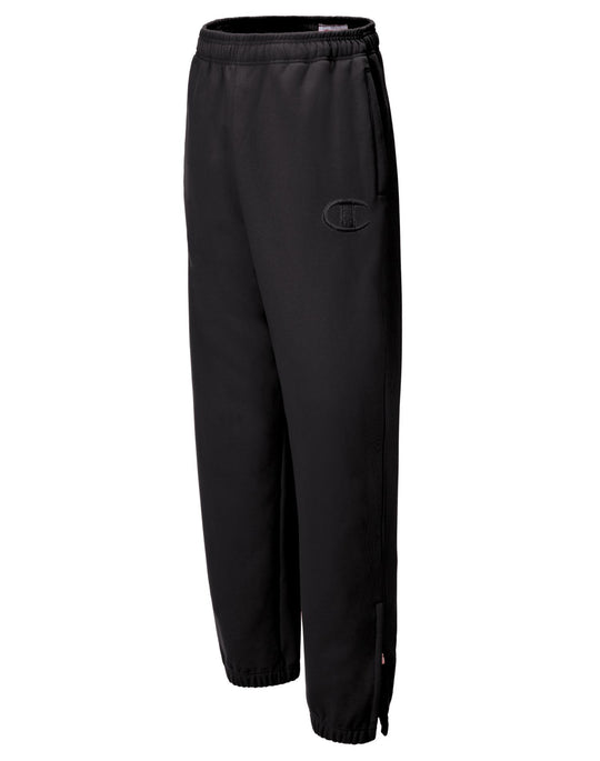 Champion Super Fleece Men`s Sweatpants with Raised Embroidered C Logo