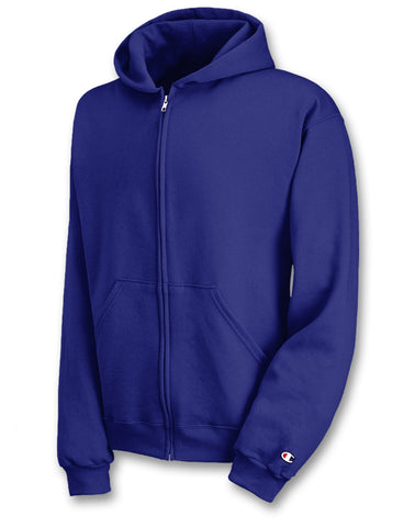 Champion Double Dry® Action Fleece Full-Zip Youth Hoodie