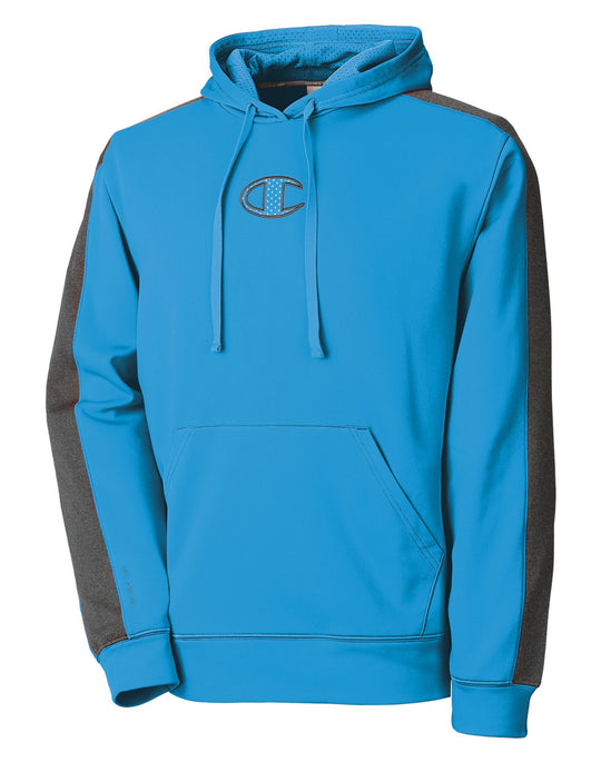 Champion Men's Powertrain Tech Fleece Pullover Hood