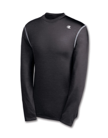 Champion Double Dry Long-Sleeve Men's Compression T Shirt