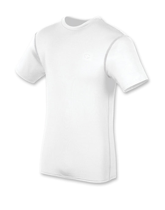 Champion Double Dry Short-Sleeve Men's Compression T Shirt