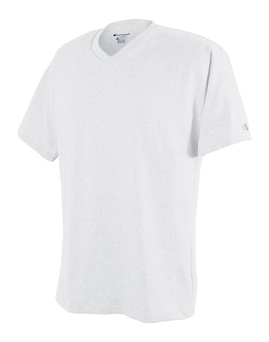 Champion Men`s Cotton V-Neck T Shirt
