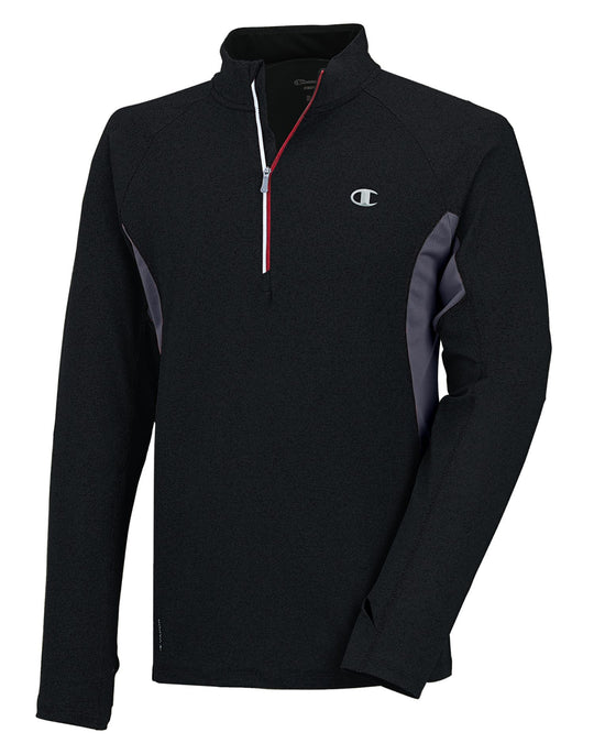 Champion PerforMax Men's Chrono Half Zip with Champion Vapor Technology