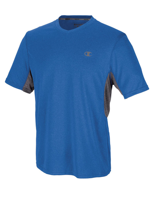 Champion Men`s PowerTrain Heather V-Neck T-Shirt