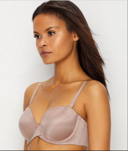 Maidenform Womens Love the Lift Push Up and In Strapless Bra