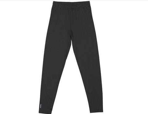 Duofold Youth Expedition Weight Pant, L, Black