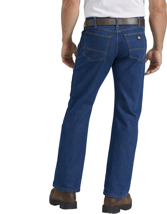 Dickies Mens FLEX Active Waist 5-Pocket Regular Fit Jeans