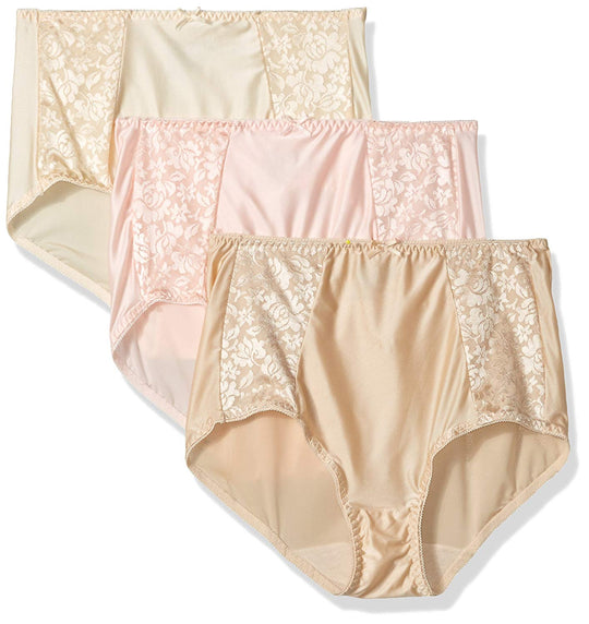 Bali Womens Double Support Brief 3-Pack
