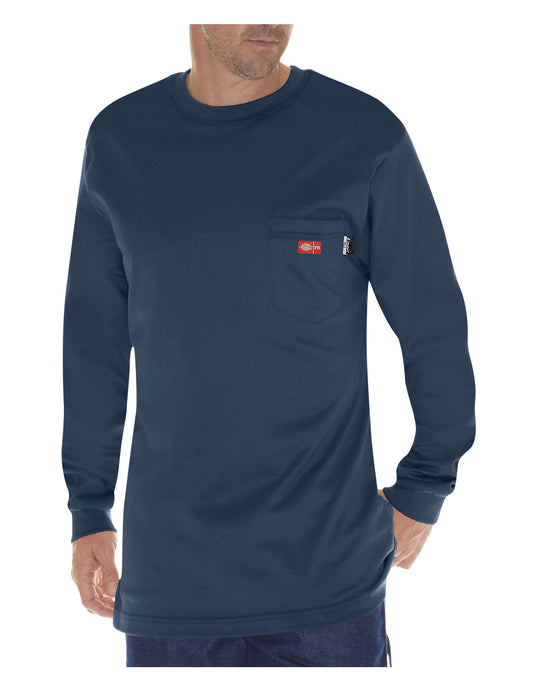 Dickies Mens Flame-Resistant Long Sleeve T-Shirt