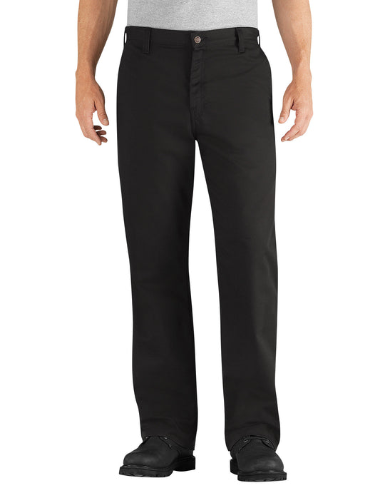 Dickies Mens Flame-Resistant Relaxed Fit Twill Pants
