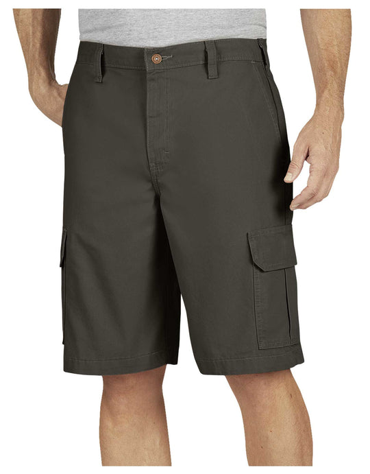 "Dickies Mens 11"" Relaxed Fit Lightweight Duck Cargo Shorts"
