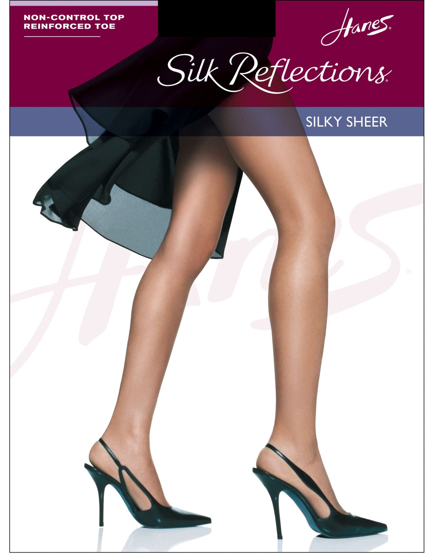 68a0388cd 00716 - Hanes Silk Reflections Non-Control Top