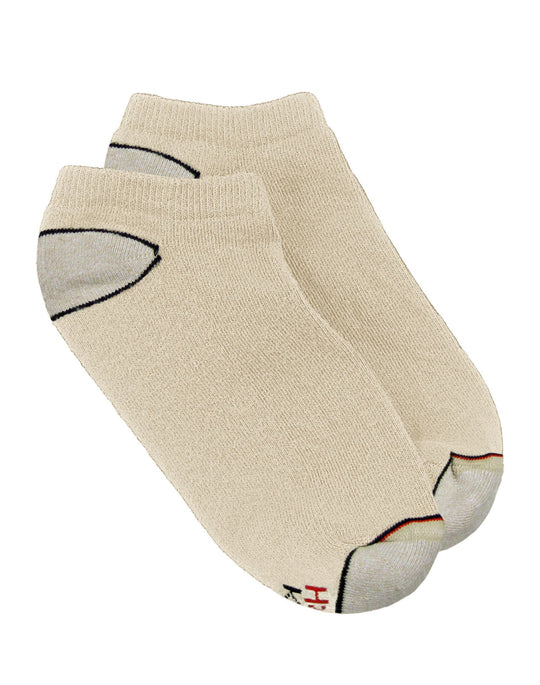 Hanes Men's Casual No-Show Socks 3-Pack