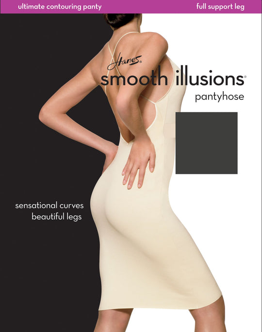 Hanes Smooth Illusions Ultimate Contouring Sheer Hosiery 1 Pair