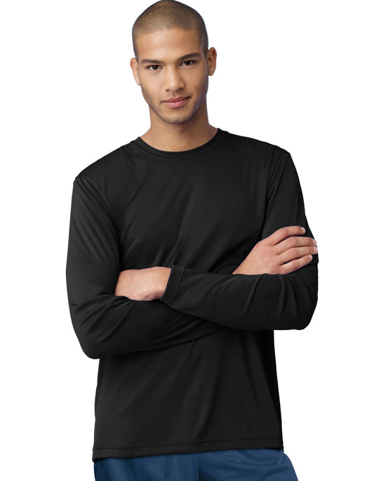 Hanes Men's Cool Dri Long Sleeve Performance T-Shirt