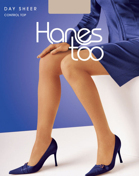 Hanes Too Regular, Reinforced Toe Pantyhose 1 Pair Pack