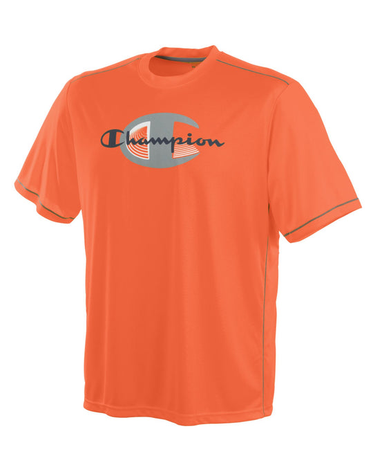 Champion Double Dry 'Demand' Men's T Shirt with Graphics