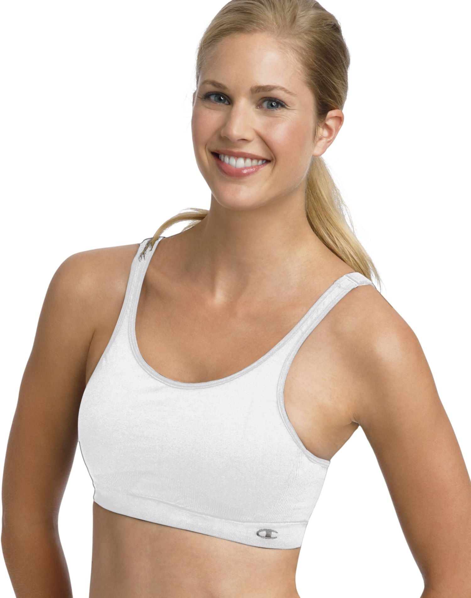 107355ad077 6242 - Champion Double Dry Seamless Full Support Underwire Sports ...