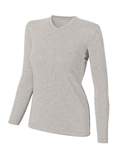 Duofold Varitherm Silk-Weight Long-Sleeve V-Neck Women's T Shirt