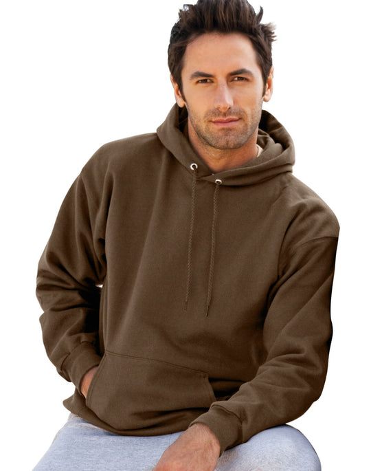Hanes Ultimate Cotton Pullover Fleece Men's Hood 10 oz