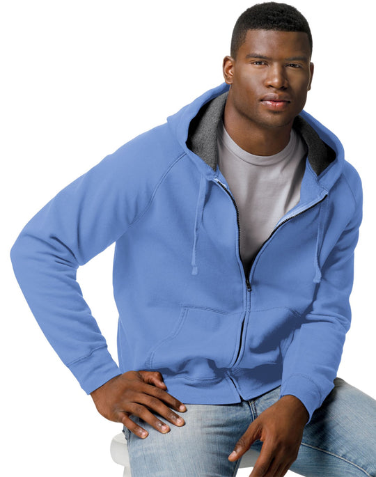 Hanes Men's Nano Sweats Zip Hoodie Sweatshirt