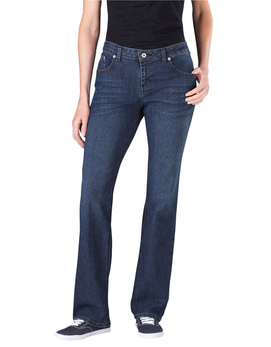 Dickies Womens Relaxed Straight Leg Denim Jeans