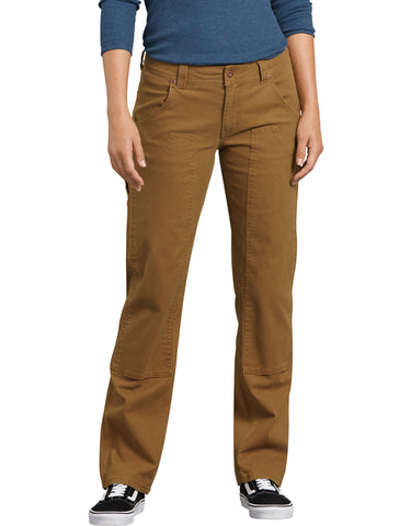 Dickies Womens Stretch Double-Front Carpenter Pants