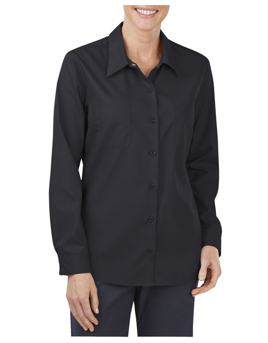 Dickies Womens Industrial Long Sleeve Work Shirt