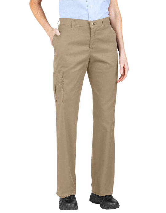 Dickies Womens Premium Relaxed Straight Cargo Pants