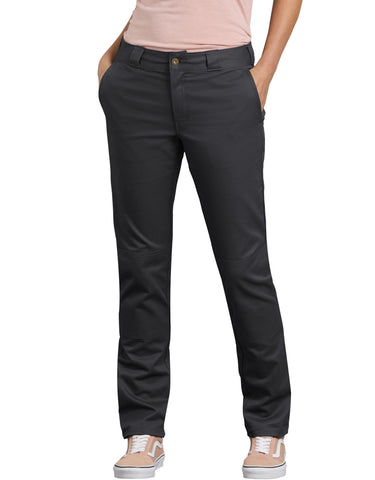 Dickies Womens Slim Fit Double Knee Pants