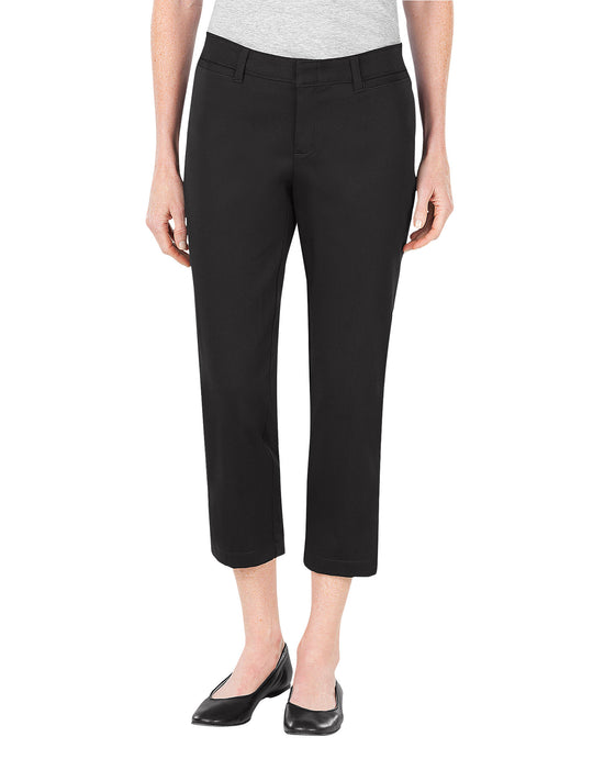 Dickies Womens Relaxed Fit Stretch Twill Capri