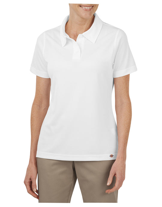 Dickies Womens Industrial Performance Short Sleeve Polo Shirt