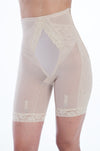 Custom Maid Women`s Extra Support Long Leg Girdle With Side Zipper