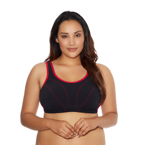 Goddess Women`s Plus-Size Soft Cup Sports Bra