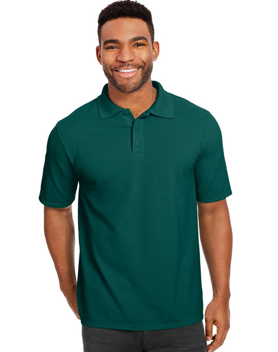 Hanes Men`s X-Temp Fresh IQ Pique Polo
