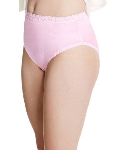 Just My Size Womens Nylon 5-Pack Full Brief