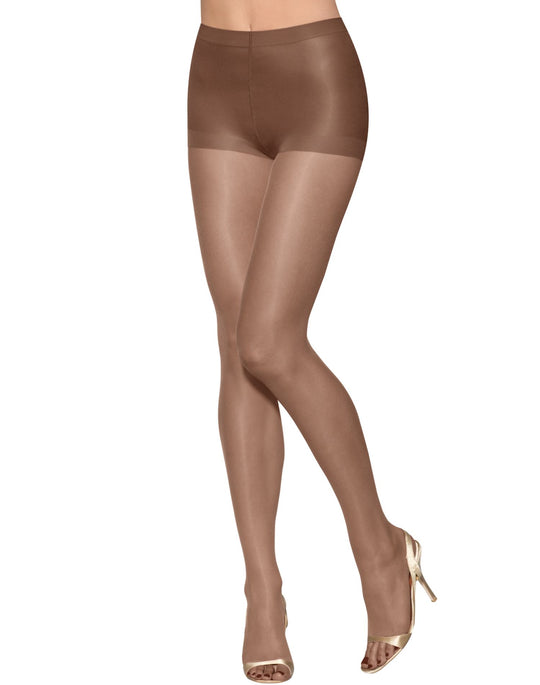 Hanes Silk Reflections Lasting Sheer Ultra Sheer Toeless Control Top Pantyhose 1 Pair Pack
