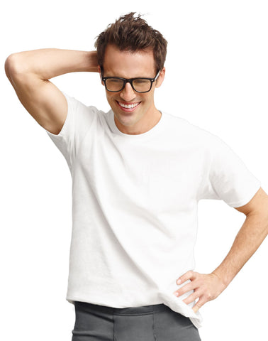 Hanes Classics Men`s Traditional Fit ComfortSoft® TAGLESS® Undershirt 2X-4X