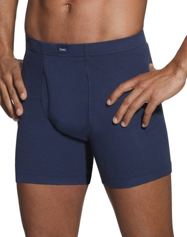Hanes Classics Men's Dyed Boxer Briefs with ComfortSoft Waistband 5-Pack