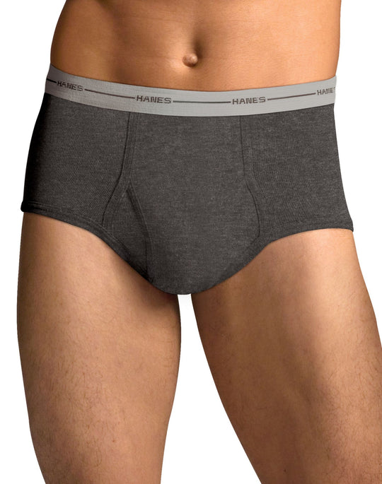 Hanes Men`s TAGLESS® ComfortSoft® Full Rise Dyed Brief - 2XL
